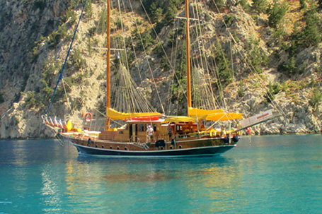 Luxury Gulet Yacht Charter Exploring the Glittering Turkish Riviera and the Greek Islands